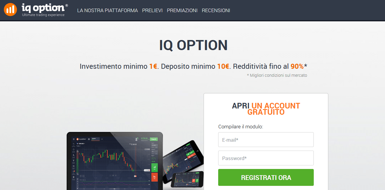 iq option conto